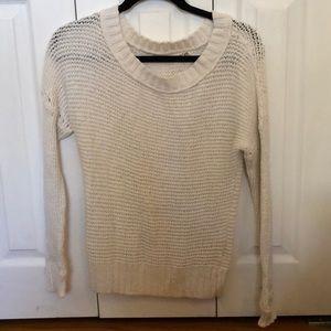 Cream aerie sweater